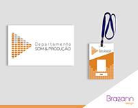 Projeto Logotipo e Crachá