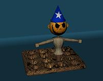 Wizard Scarecrow