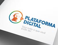 Design da marca Plataforma Digital