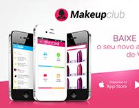 UI/UX app - Makeup Club