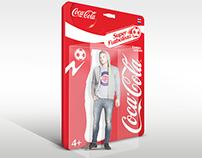 Coa-Cola Giant Toy Box Super Futbolista