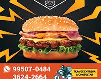 Quality Burger - Logo e Flyer a5