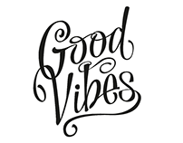 Good Vibes - Identidad & Lettering