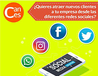Social Media Manager Cances SAS