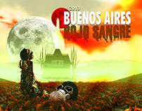 Ilustración (Concurso Afiche Bs As Rojo Sangre) 3D