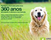Aniversário de Sorocaba - Union Pet