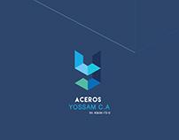 Logo - Logotype Aceros Yossam c.a