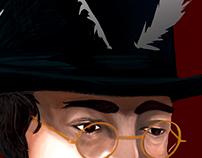 Lennon's watch Digital Illustration