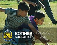 """Revista """"Botines Solidarios"""""""