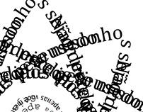 Um Átomo de palavras