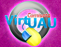 Campanha de Carnaval -Camiseta Virtuau