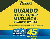 Campanha 2016 - Candidato Dr.Zé Humberto - Igarapava
