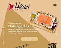 Hikari - Restaurant Japanese - Model Single Page rv1