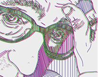 digital portrait´s «People without masks»