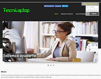 Sitio web y sistema de recepción en Línea