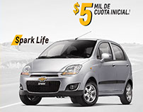 ADVERTING PLAN SINCO/ CAMPANA CHEVROLET / COLOMBIA