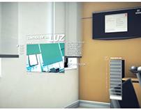 Render 3D animado para PROYECCIONES DIGITALES
