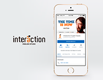 Interaction English Studio - Social Network