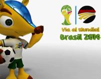 Micros Vía al Mundial Brasil 2014