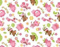 Pattern/Rapport Linha Infantil - Animais