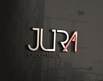 Logo, jurA, marca, branding, logotipo