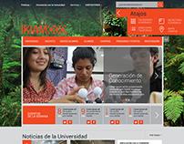 Sitio Web Universidad
