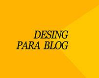 Criação de blog's