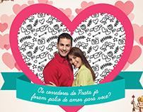 Endomarketing Dia dos Namorados Prataviera Shopping