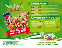 Flyer Fresh Salads