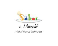 Sabor a Manabí. Logo. Manabí Flavor Festival