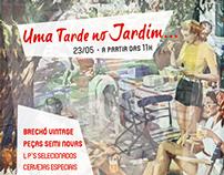 Uma Tarde no Jardim - Flyer