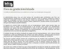 Conteúdo e divulgação - Portal Infra