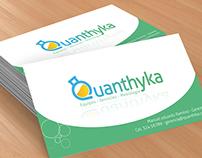 Identidad corporativa Quanthyka
