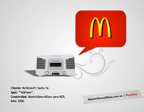 McDonald's - Teléfono (spot de radio)