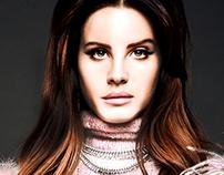 Contraste de Expressão - Lana del Rey