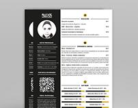 Diseño de Curriculum – Alexis Graphic Desing