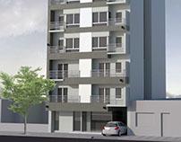 Render exterior- vivienda multifamiliar