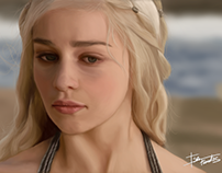 Daenerys Targaryen - Digital Painting