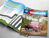 Diagramação da Revista UsadosBR - Edição 04