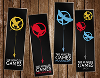 The Hunger Games book markers