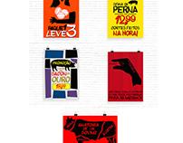 Cartazes com inspirações artísticas