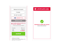 Layout Mobile - Assinatura de produtos (RaiaDrogasil)