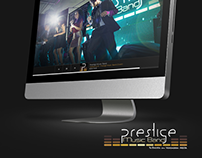 Prestige Music Band - Página Web