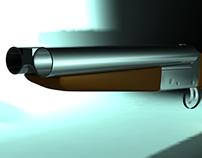 Mad Max Shotgun - High Poly 3D Model