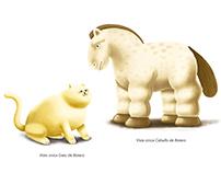 Animación e ilustraciones - Nina y el arte colombiano