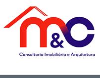 Logo Desenvolvido para M&C imóveis