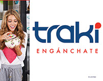 Fachada para tiendas Traki ciudad Valera Venezuela