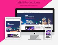 M&N Producciones - One Page Scroll