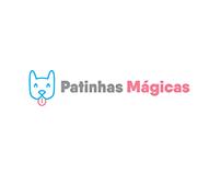 Logotipo para a Identidade Visual Patinhas Mágicas