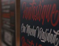Fotografías de la séptima bienal de tipografía